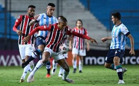 Depois de empatar com o Racing, o Tricolor volta a jogar pela Libertadores (Foto: Staff Images / CONMEBOL)