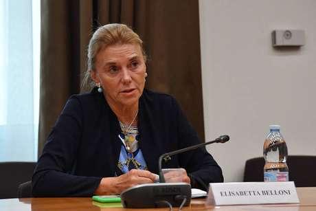 Elisabetta Belloni substituirá o diretor Gennaro Vecchione