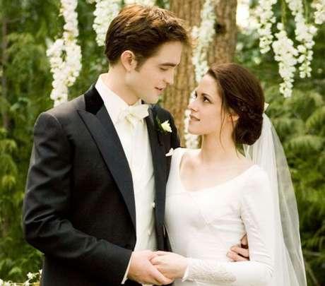 Edward e Bella./ Reprodução.