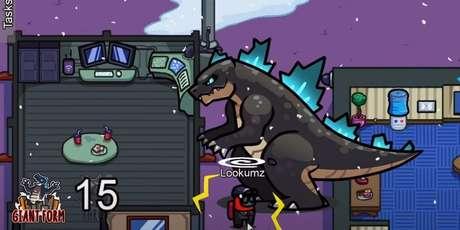 Among Us - Mod Godzilla vs Kong