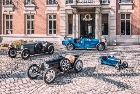 Bugatti Baby II é baseado no Type 35 e uma releitura do Bugatti Baby de 1926.