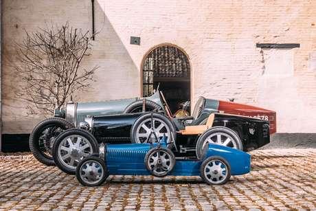 Bugatti Type 35, Bugatti Baby II e Bugatti Baby.