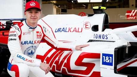 Nikita Mazepin, piloto da Haas.