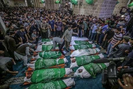 Conflito entre Israel e palestinos se intensifica
