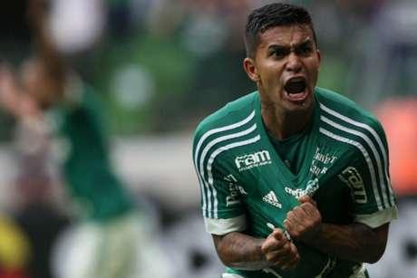 Dudu tem 305 jogos e 70 gols com a camisa do Palmeiras (Foto: Cesar Greco / Ag. Palmeiras)