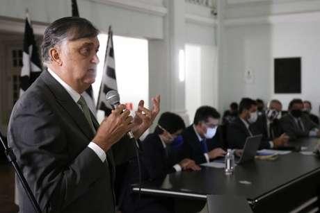 Durcesio Mello é o presidente do Botafogo (Vítor Silva/Botafogo)