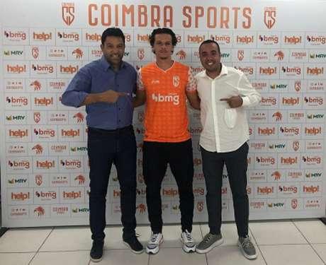 Davi já tem sido observado por clubes da Europa e defenderá a equipe da Grande BH-(Divulgação/Coimbra)