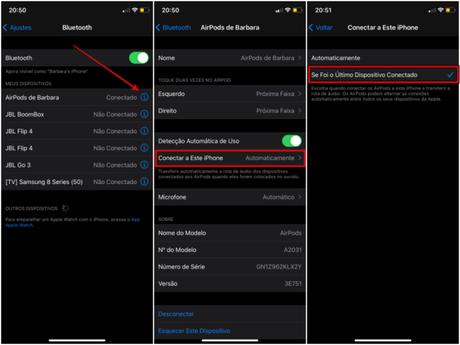 Como impedir que AirPods mudem do iPhone para outros dispositivos