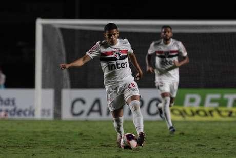 Bruno Rodrigues foi cortado da lista de inscritos do Paulistão (Foto: Rubens Chiri / saopaulofc.net)