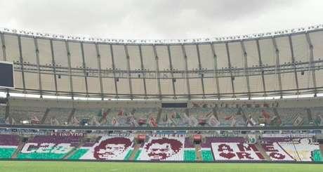 Mando de campo do primeiro jogo é do Fluminense; jogo é neste sábado (Foto: Reprodução)