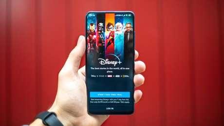 Aplicativo do Disney+