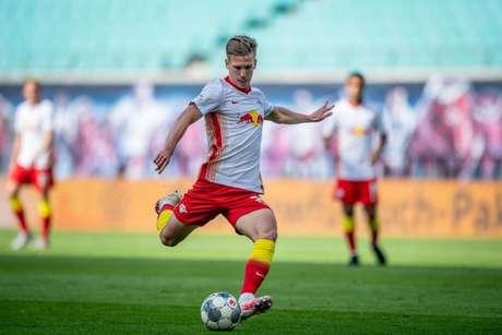 Dani Olmo marcou seis gols e deu 12 assistências na temporada (Foto: Divulgação / Site oficial do RB Leipzig)