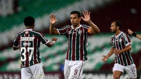 Fred fez o 1º gol do Flu (FOTO: LUCAS MERÇON / FLUMINENSE F.C.)