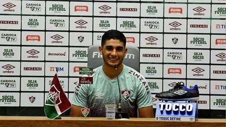 Jogador chegou ao Fluminense em 2020, mas perdeu espaço nesta temporada Foto: Mailson Santana / Fluminense FC