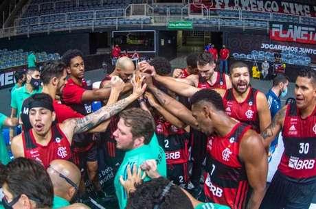 No jogo 2, o Flamengo venceu o Paulistano por 81 a 75 (Foto: Marcelo Cortes / Flamengo)