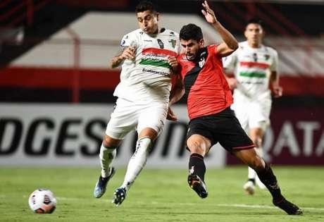Partida aconteceu no Antônio Accioly (Divulgação/Copa Sul-Americana)