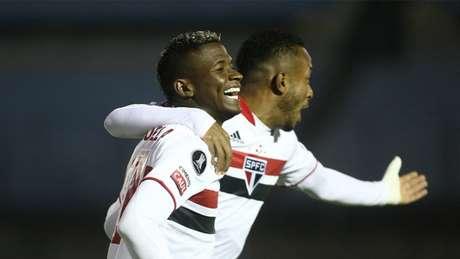 Orejuela analisou o empate do São Paulo (Foto: ERNESTO RYAN / AFP / POOL)