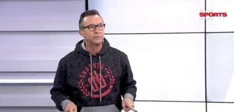 Neto apresenta dois programas na TV Bandeirantes (Reprodução/BandSports)