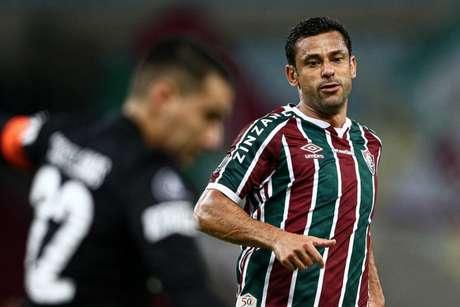 Fred empatou o jogo no Maracanã (FOTO: LUCAS MERÇON / FLUMINENSE F.C.)