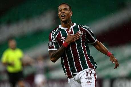Caio Paulista marcou o gol da virada do Fluminense no Maracanã (FOTO: LUCAS MERÇON / FLUMINENSE F.C.)