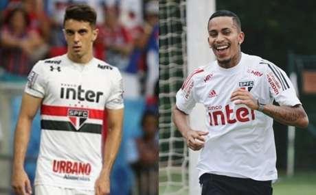 Shaylon e Paulinho Boia estão inscritos no Paulistão (Foto: Montagem LANCE!)