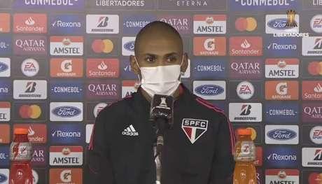 Bruno Alves analisou o empate do São Paulo contra o Rentistas (Foto: Captura de Tela/YouTube)
