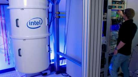Câmara de resfriamento para computação quântica