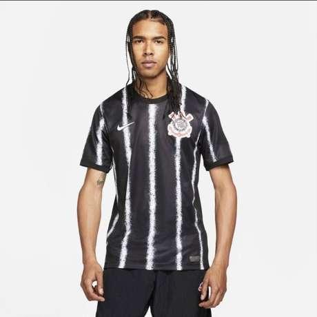 Suposta imagem do novo segundo uniforme vazou na Internet (Foto: Divulgação)