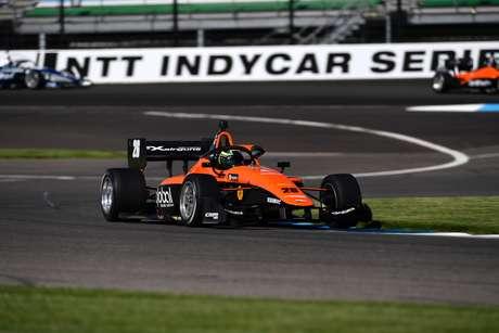 Linus Lundqvist venceu mais uma na Indy Lights