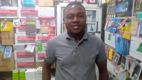 Onyeka Orie diz que não esperava receber uma loja