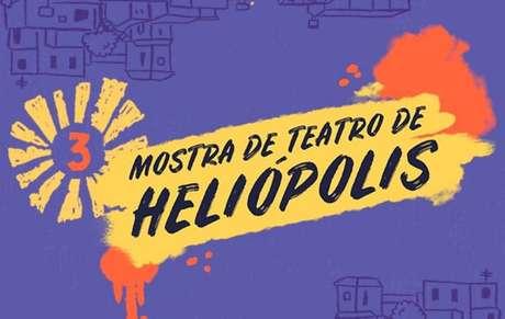 A 3ª Mostra de Teatro Heliópolis acontece no período de20 a 25 de julho