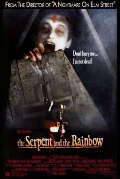 Livro de Wade Davies inspirou filme de terror de Wes Craven, lançado em 1988