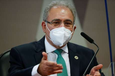 Ministro da Saúde participa da CPI no Senado  6/5/2021 REUTERS/Adriano Machado