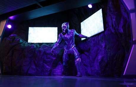 Madame Tussauds estreia estátua de Pantera Negra   14/5/2021   REUTERS/Hannah McKay