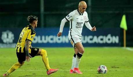 Fábio Santos não joga a próxima rodada da Copa Sul-Americana (Foto: Rodrigo Coca/Agência Corinthians)