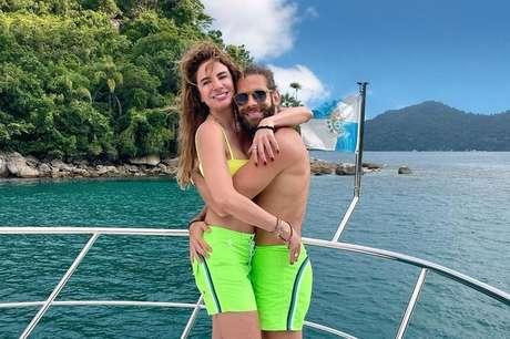 Luciana Gimenez e Eduardo Buffara assumiram o romance em 2020.