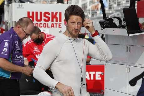 Grosjean já tem pole na Indy!