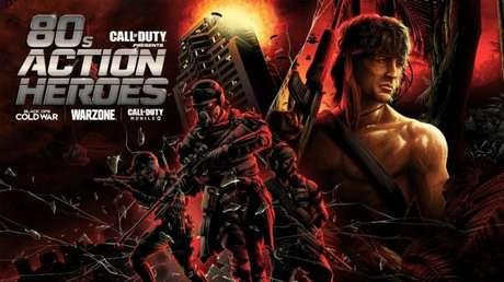 Rambo estará em Call of Duty na próxima semana