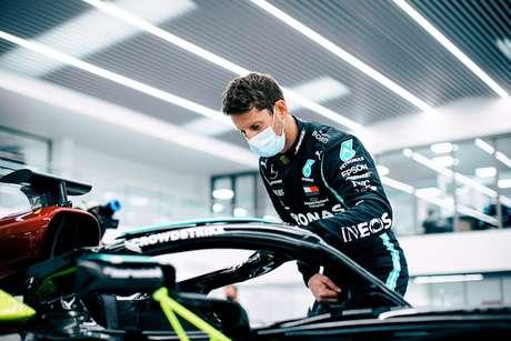Romain Grosjean vai testar pela Mercedes