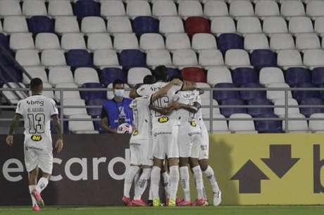 O Galo garantiu com os três pontos, a vaga antecipada para a fase de oitavas de final da Libertadores-(FOTO: Ricardo MALDONADO / AFP / POOL)