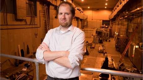 Os ímãs não são mais 'escala de brinquedo', diz Bob Mumgaard, do CFS