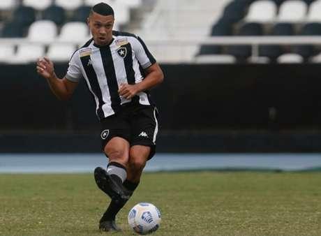 Ewerton em ação pelo Botafogo (Foto: Vítor Silva/Botafogo)