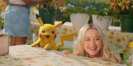 'Electric' tem Katy Perry e Pikachu
