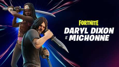 Fortnite: Daryl e Michonne