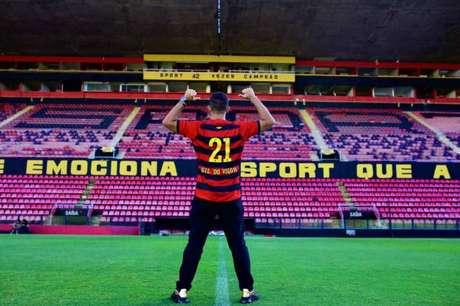 Gil do Vigor na Ilha do Retiro (Reprodução / Twitter Sport / Anderson Stevens)