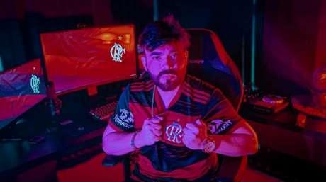 BarcelloS compartilha rotina através de uma live (Divulgação/Flamengo)