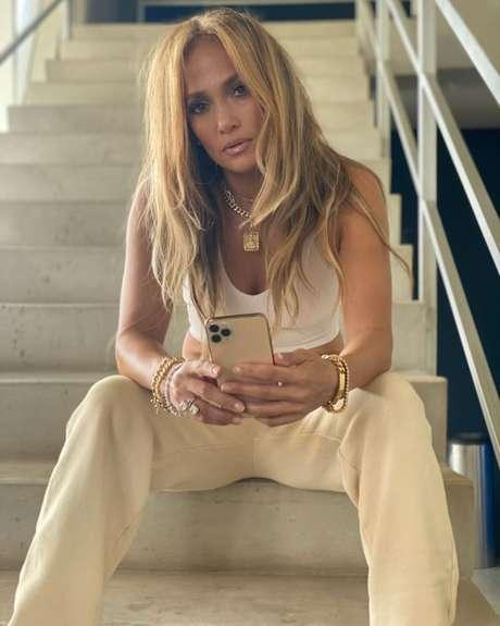 Jennifer Lopez./ Reprodução (Instagram @jlo).