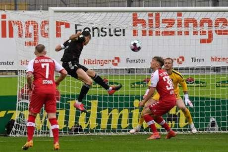 Bayern e Freiburg ficaram no empate (Foto: Thomas KIENZLE / POOL / AFP)
