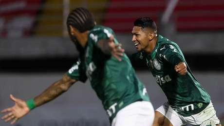 A dupla Rony e Luiz Adriano novamente foi decisiva para o Verdão (Foto: Cesar Greco/Palmeiras)