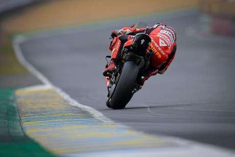 Jack Miller andou bem e colocou a Ducati em terceiro